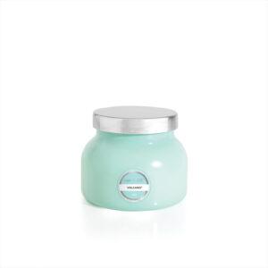 Petite Aqua Jar Volcano Candle