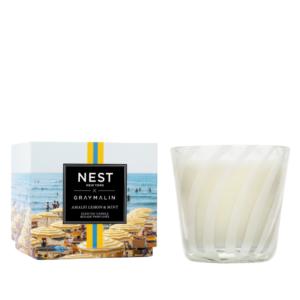 NEST New York x Gray Malin Amalfi Lemon & Mint 3-Wick Candle