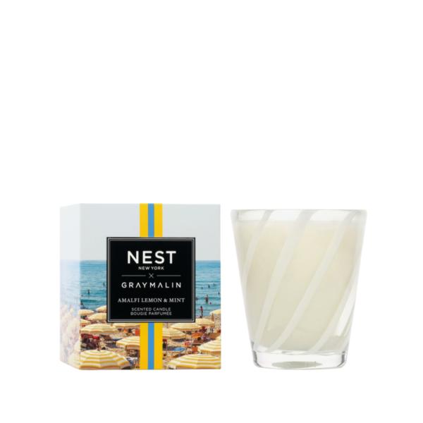 NEST New York x Gray Malin Amalfi Lemon & Mint Classic Candle