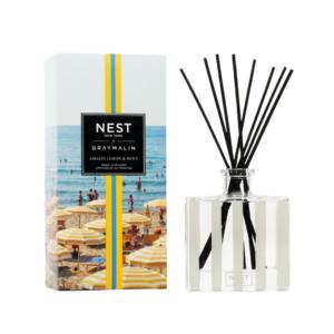 NEST New York x Gray Malin Amalfi Lemon & Mint Reed Diffuser