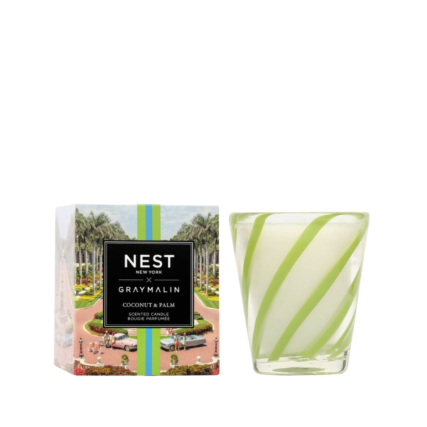 NEST New York x Gray Malin Coconut & Palm Classic Candle