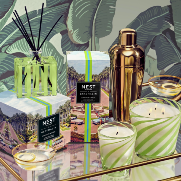 NEST New York x Gray Malin Coconut & Palm Products Lifestyle