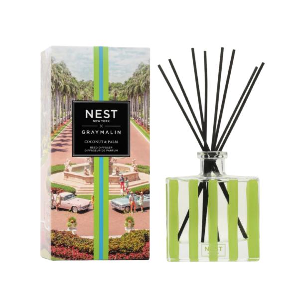 NEST New York x Gray Malin Coconut & Palm Reed Diffuser