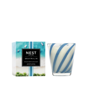 NEST New York x Gray Malin Ocean Mist & Sea Salt Classic Candle