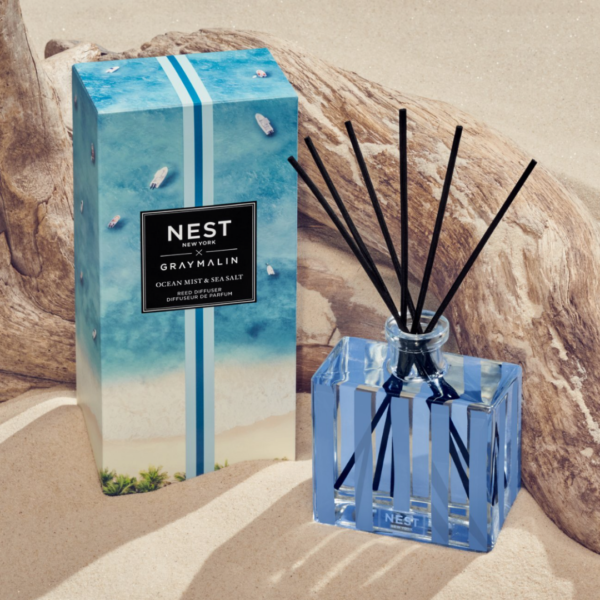NEST New York x Gray Malin Ocean Mist & Sea Salt Reed Diffuser Lifestyle