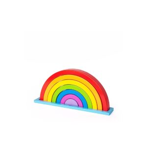 Rainbow Puzzle Stacking Toy