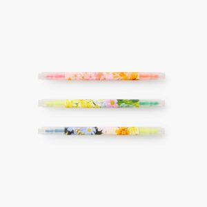 Floral Rifle Paper Co Highlighter Set