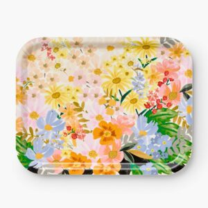Rifle Paper Co Floral Rectangle Ply Tray