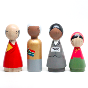 The Peacemakers II Wooden Doll Set