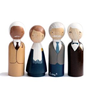 The Scientists Wooden Doll Set
