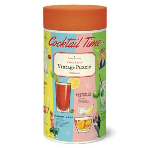 Cocktail Time Vintage Puzzle