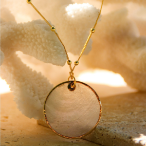 Freshwater Pearl Shell Necklace 2