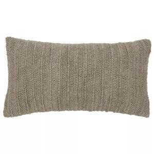 Natural Linen Knit Pillow