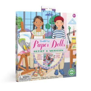 Artist and Musician Paper Doll Set