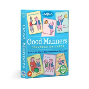 Good Manners Flash Card Set