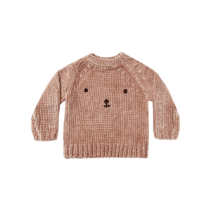 Rylee and Cru Bear Chenille Sweater